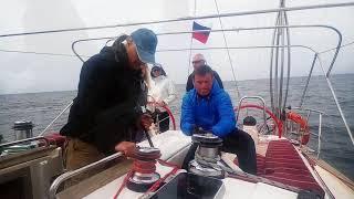 Обучение яхтингу в Крыму. Экзамен.