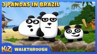 [Kizi Games] 3 Pandas In Brazil → Walkthrough