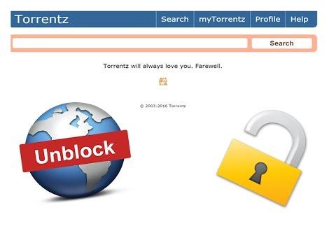 how to unlock torrentz.eu