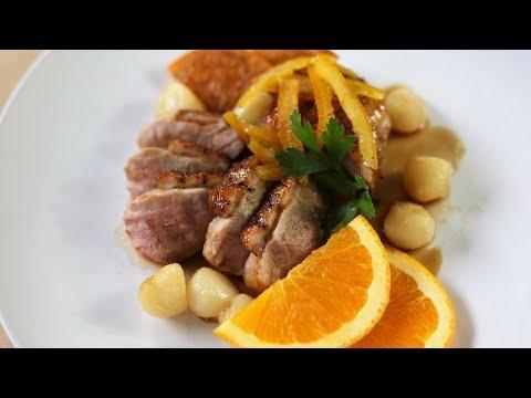 Duck Breast A L'Orange ( Orange Duck ) | Classic French Recipes