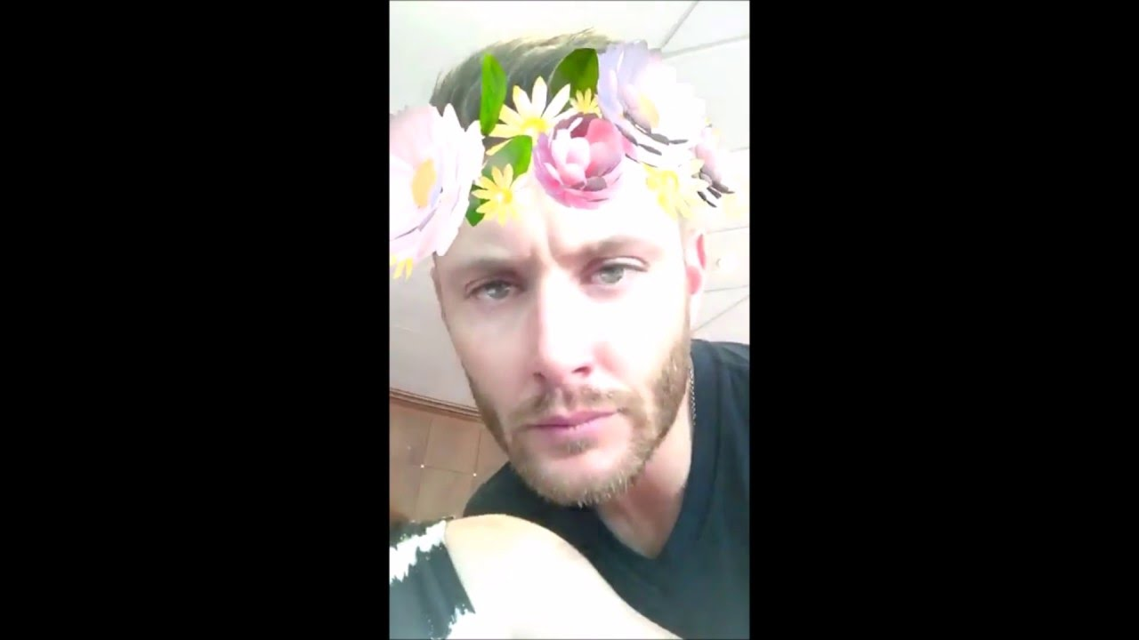 What is jensen ackles snapchat