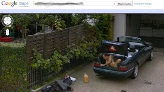 10 Weirdest Things On Google Street View