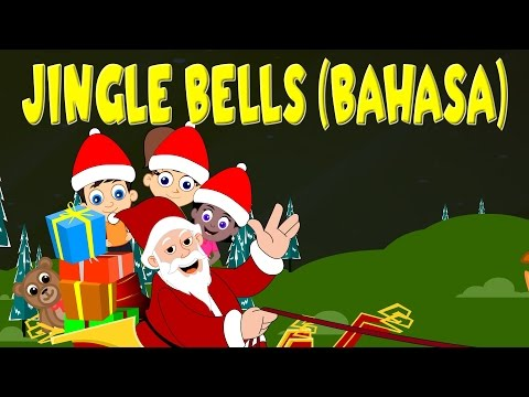 Ding dong ding  Jingle Bells in Bahasa Indonesia  Lagu Natal  Indonesian Christmas Songs