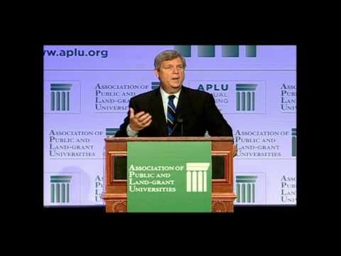 126th APLU Annual Meeting Closing Session: USDA Secretary Tom Vilsack