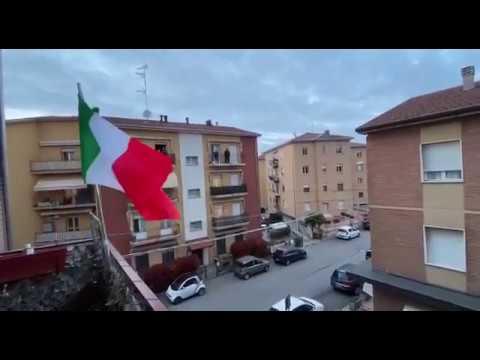 Гимн России в Италии Russian National Anthem In Italy