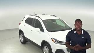 182745 - New, 2018, Chevrolet Trax, 1LT, AWD, White, SUV, Test Drive, Review, For Sale -