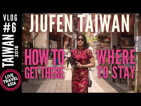 Jiufen Taiwan How to Get to and Around Bus Directions, B&B Review, Convenience Store Food