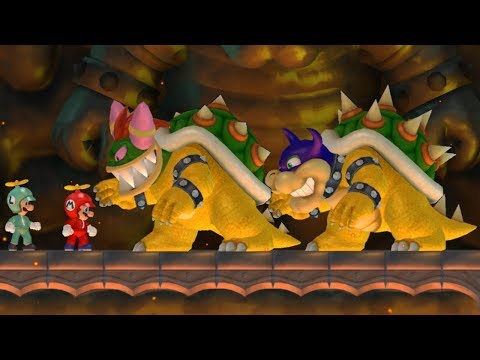 Thumbnail: New Super Mario Bros Wii - Rookie and Bowletta Boss Battles