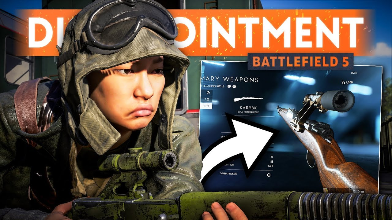 I'M DISAPPOINTED ABOUT WEAPONS - Battlefield 5