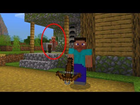 Creepy Minecraft villager is still stalking me in Minecraft..