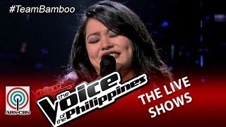 """The Live Shows """"Because of You"""" by Tanya Diaz (Season 2)"""