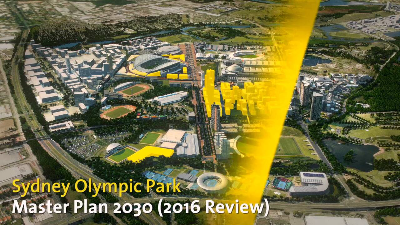 Sydney Olympic Park Master Plan 2030 (2016 Review)