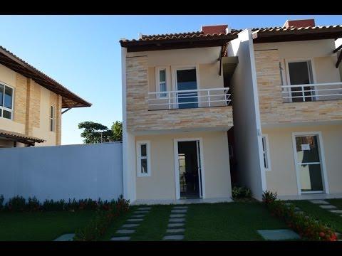 Natura ville condominio fechado de casas duplex na lagoa for Modelos de frentes para casas
