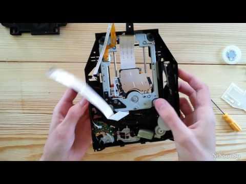 Замена лазерной головки PS3 Slim 3008A Не читает диски