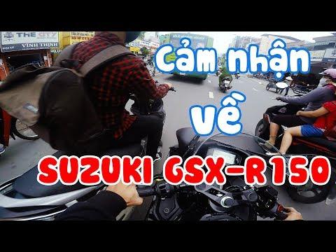 LÁI VÀ CẢM NHẬN SUZUKI GSX-R150 | SGX | Motovlog Vietnam