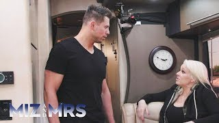The Miz & Maryse's private tour bus begins to smell after 24 hours: Miz & Mrs. Preview Aug. 21, 2018