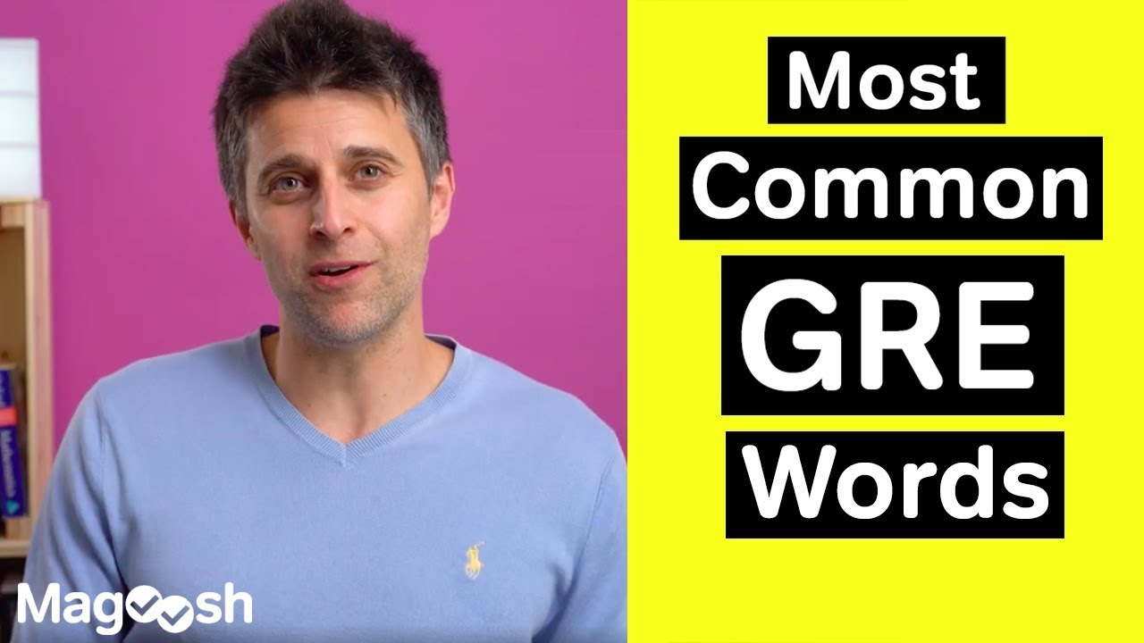 Download Most Common GRE Words - GRE Vocabulary Wednesday