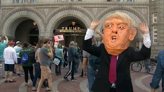Trump responds to protesters across the country demanding his tax returns