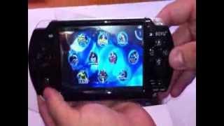 Video Game portátil tipo PSP c/ 1000 jogos na memória(Video Game portátil ótimo custo beneficio para crianças, muito barato., 2013-11-27T19:06:13.000Z)