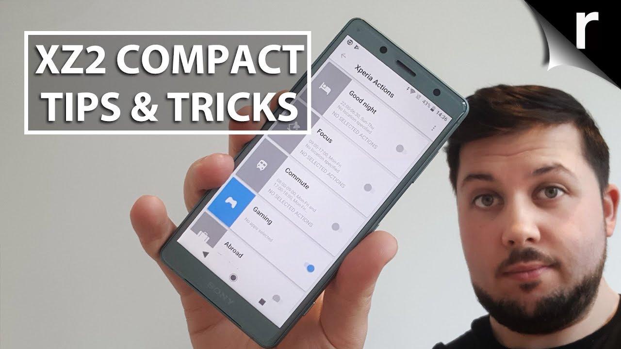 Sony Xperia XZ2 Compact Tips & Tricks Guide | Recombu