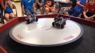 SuGO : Sumo wrestling LEGO Robots.