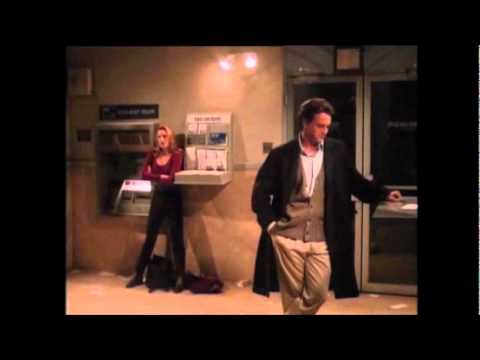 Friends - Chandler Gets Stuck at the Bank