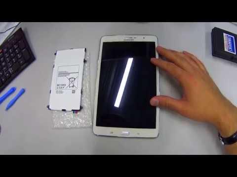 ✅ как поменять аккумулятор на планшете Samsung Galaxy Tab Pro 8.4 T325
