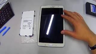 как поменять аккумулятор на планшете samsung galaxy tab pro 8.4 t325