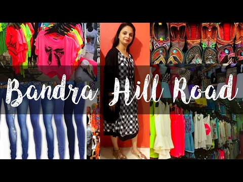 Bandra Hill Road / Get Fancy & Trendy Clothes in Cheap Price/ Better Than Bandra Linking road