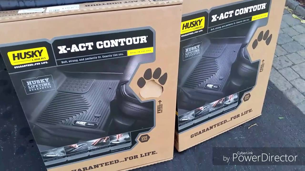 Husky X Act Contour Floor Liners Review For 2016 Dodge Ram