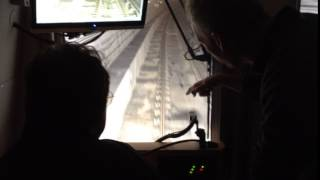 View from inside the Red Line tunnel