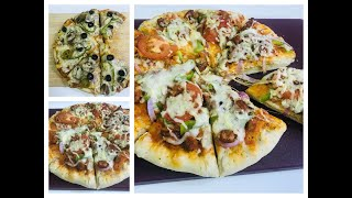 2 Tasty Homemade Pizza Recipe&#39s With 3 Homemade Pizza Sauce&#39s  Domino&#39s Style Cheese Burst Pizza