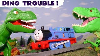 Thomas and Friends Dinosaur Trouble with Monsters In The Tunnel and the funny Funlings TT4U