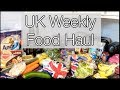 UK Weekly Food Shop Haul - Single Lady edition! | xameliax