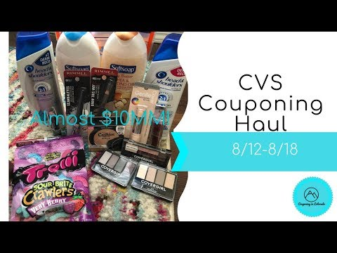 CVS Couponing Haul 8/12-8/18 - almost...