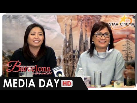 [FULL] Media Day | Direk Olivia M. Lamasan and Writer Carmi Raymundo |  'Barcelona: A Love Untold'