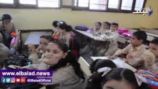 بالفيديو.. محافظ القليوبية ومدير الأمن يتفقدان مدارس المحافظة