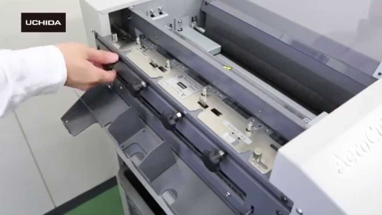 Uchida Aerocut Nano The Most Reliable Sra3 Card Cutter Youtube