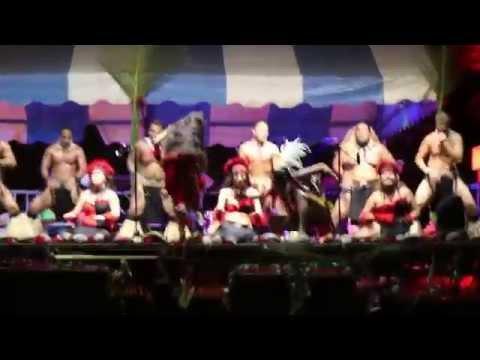 Marquesan Dance Troop performs in Faaa, Tahiti