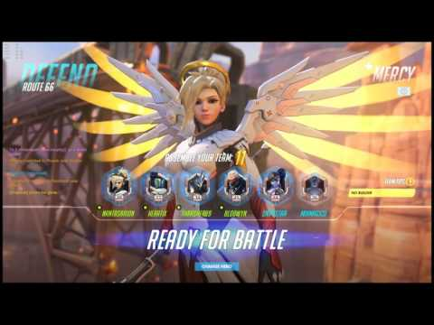 Overwatch Live Computer Generated Death