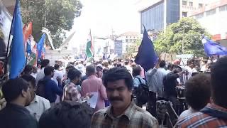 'മഹാറാലി' Part: 1 കാൽ ലക്ഷത്തോളം HSS അധ്യാപകർ പങ്കെടുത്ത കൂറ്റൻ റാലി