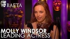 Molly Windsor wins Leading Actress   BAFTA TV Awards 2018