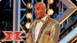 Simon Gross wants to entertain you! | Auditions Week 4 | The X Factor 2017