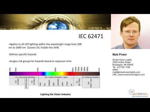 IEC 62471 photobiological safety standards for LED lighting