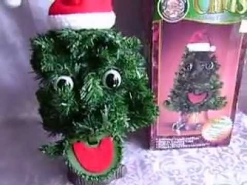Singing Christmas Tree Video
