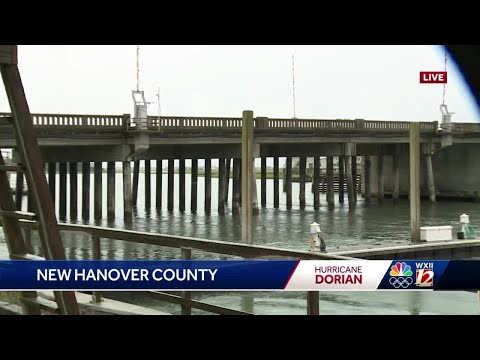 WATCH: Kenny In New Hanover County On Local Businesses Before Dorian