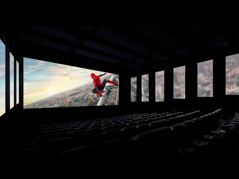 Immersive or distracting? Regal L.A. Live to experiment with 'ambient' movie theater tech - Los Angeles Times