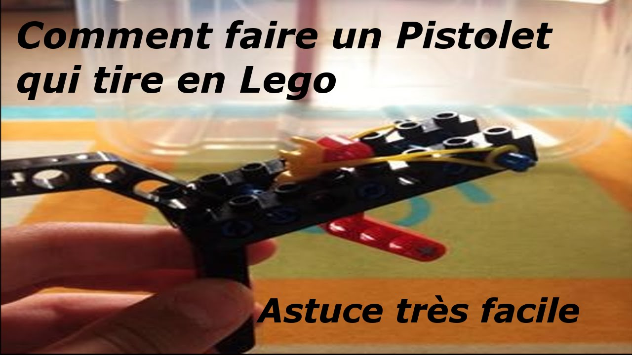 comment faire un pistolet qui tire en lego astuce tr s facile youtube. Black Bedroom Furniture Sets. Home Design Ideas