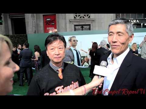 Tzi Ma & Will Chang at the World Premiere of Disney's MillionDollarArm @SFGiants