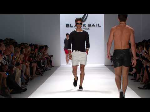 Nautica Men's Spring 2014 Black Sail Fashion Show
